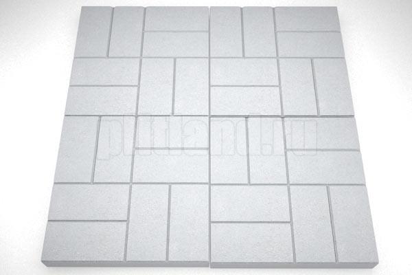 8 кирпичей вибролитье серый