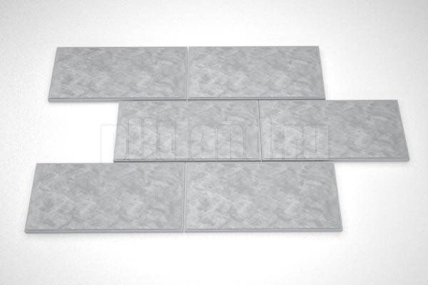 фасадная плитка 270x130 вибролитье серый