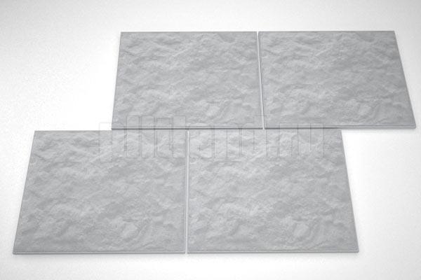 фасадная плитка 270x330 вибролитье серый