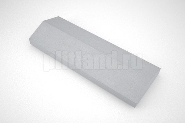 крышка на забор 500x180 вибролитье серый