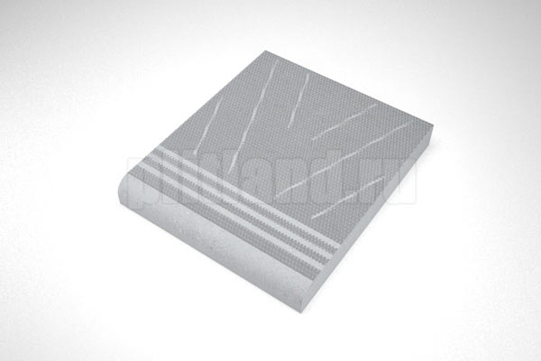 элемент 1 - ступень вибролитье серый